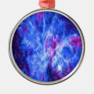 Lover's Dreams Silver-Colored Round Ornament