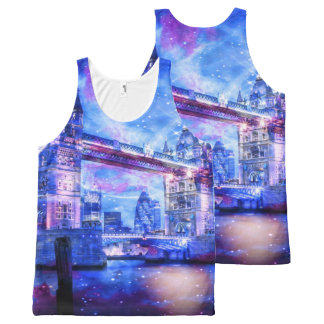 Lover's London Dreams All-Over-Print Tank Top