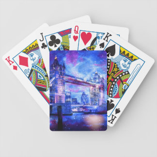 Lover's London Dreams Bicycle Playing Cards
