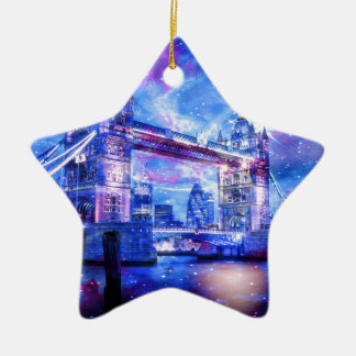 Lover's London Dreams Ceramic Star Ornament