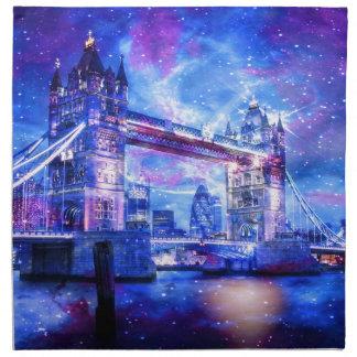 Lover's London Dreams Napkin