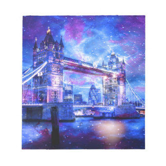 Lover's London Dreams Notepad