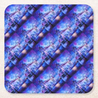 Lover's London Dreams Square Paper Coaster