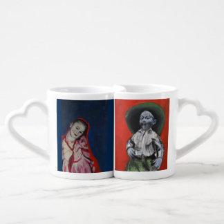 Lovers' Mugs, cowboy and princess Coffee Mug Set