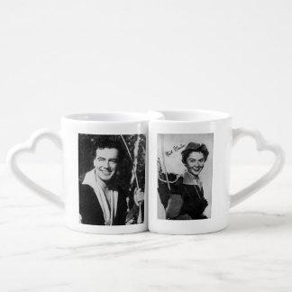 Lovers mugs vintage Robin Hood & Maid Marian