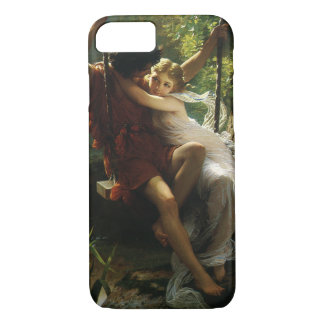 Lovers on a Swing. Spring by Pierre Auguste Cot iPhone 8/7 Case