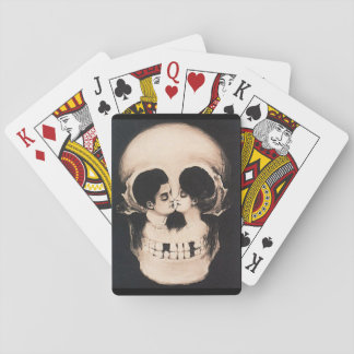 Lovers or Skull - What Do You See? Playing Cards