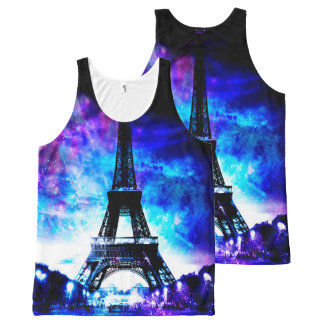 Lovers Parisian Creation Dreams All-Over-Print Tank Top