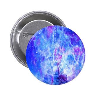 Lover's Parisian Dreams 2 Inch Round Button