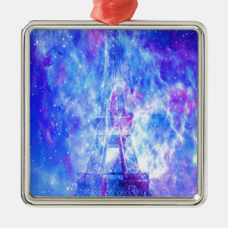 Lover's Parisian Dreams Metal Ornament