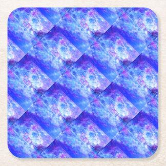 Lover's Parisian Dreams Square Paper Coaster