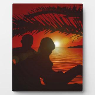 Lovers Plaque