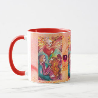 LOVERS Romantic Valentines's Day Hearts Mug
