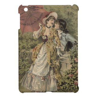 Lovers Under Umbrella iPad Mini Cover