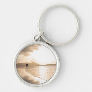 Lovers walk keychain