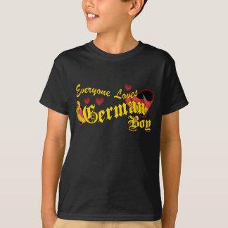 Loves an German Boy Kids T-Shirt