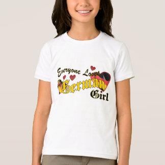 Loves an German Girl Kids T-Shirt