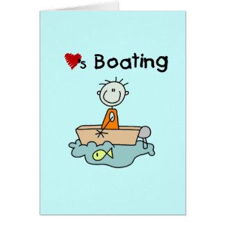 Loves Boating Card