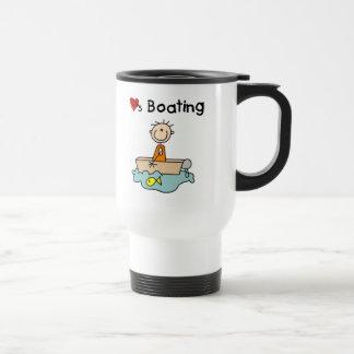 Loves Boating Mug