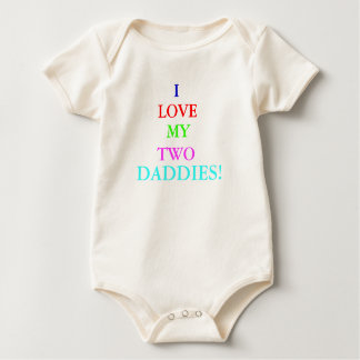 Loves Daddy Baby Bodysuit