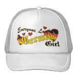 Loves German Girl Hat
