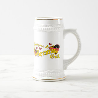 Loves German Girl Mug