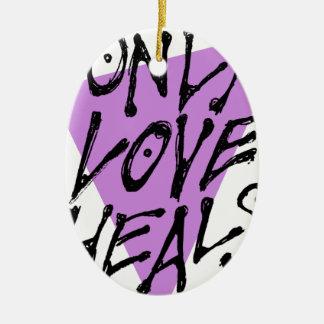LOVES-HEAL CERAMIC ORNAMENT
