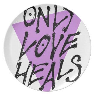 LOVES-HEAL PLATE