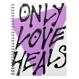 LOVES-HEAL SPIRAL NOTEBOOK