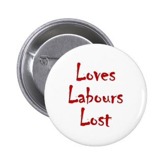 Loves labours draws pin