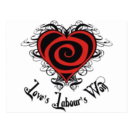 Love's Labour's Won Postcard