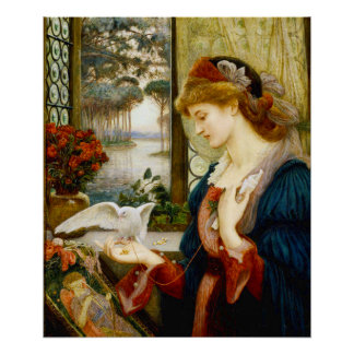 Love's Messenger Fine Art Poster