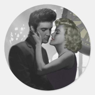 Love's Return Round Sticker
