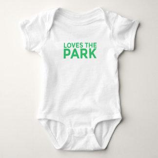 Loves The Park Baby Bodysuit