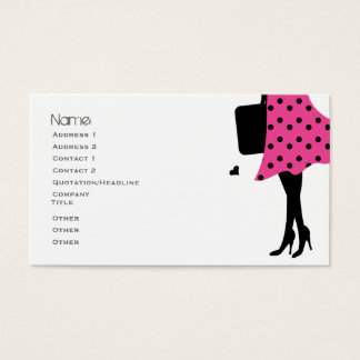 Loves to Travel Business Card