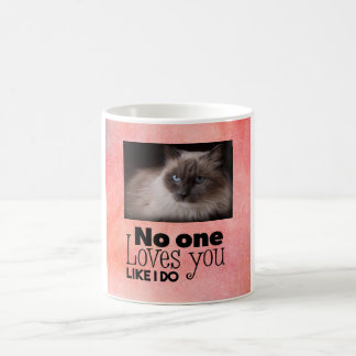Loves You Like I Do Custom Cat Mug