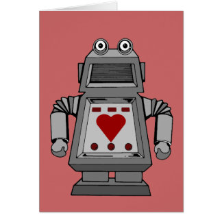 Lovesick Robot Greeting Cards