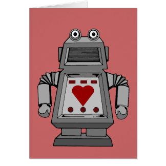 Lovesick Robot Greeting Cards