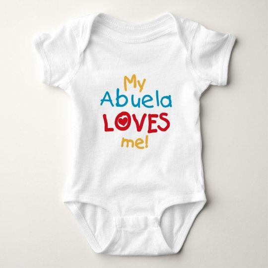 LOVESMEabuela Baby Bodysuit