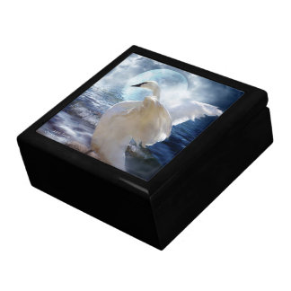 Loveswept Swan Art Gift Box