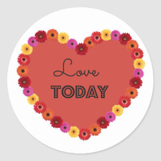 Lovetoday Round Sticker
