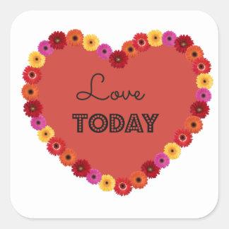 Lovetoday Square Sticker