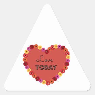 Lovetoday Triangle Sticker