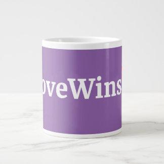 LoveWins Jumbo Coffee Mug