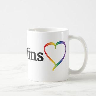 #LoveWins Rainbow Heart 11 oz Mug