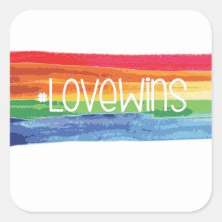 #LoveWins Square Sticker