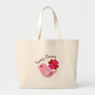 Lovey Dovey Jumbo Tote Bag