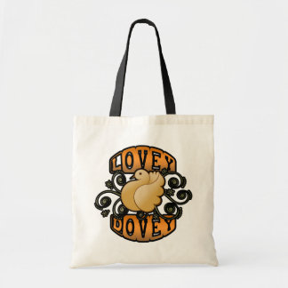 Lovey Dovey! Budget Tote Bag