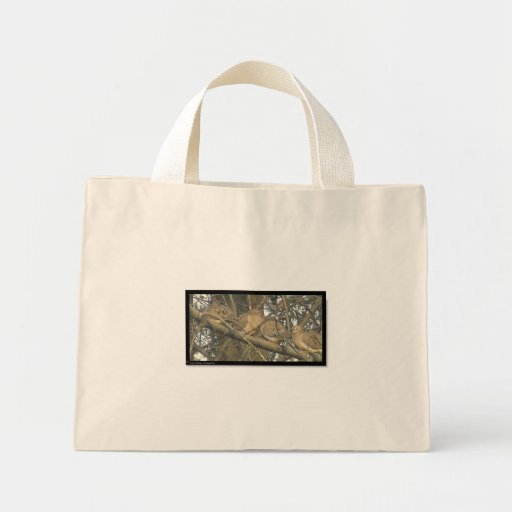 Lovey Dovey Doves ℒ ☺♥ε Bag* Tiny Tote