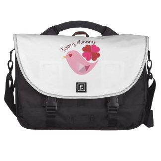Lovey Dovey Laptop Messenger Bag